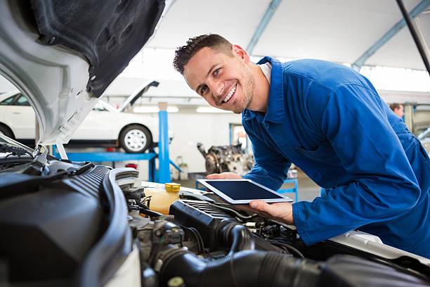 Auto Mechanic Bahrs Scrub